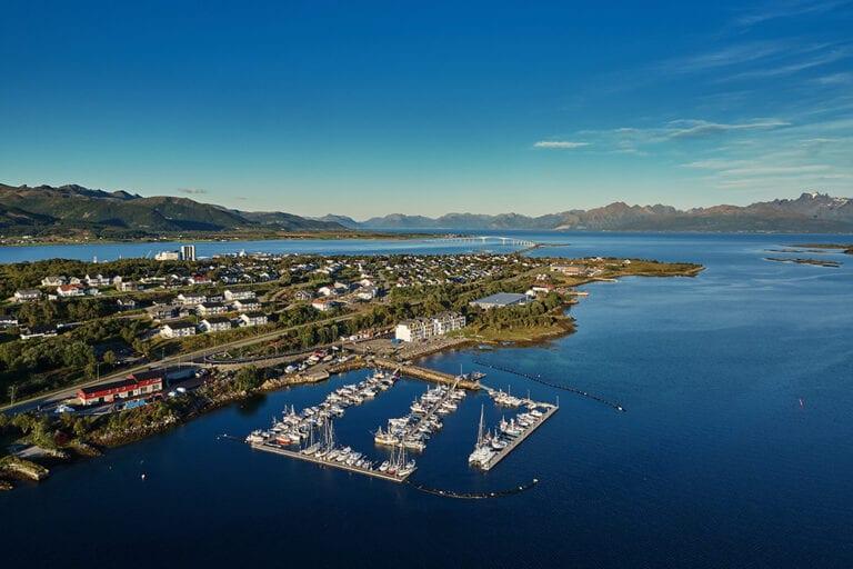 Utsikt over Børøya