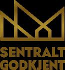 Sentralt Godkjent logo