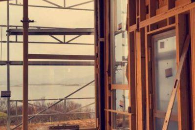 Arbeid med innsiden av boligen for Joakim Antonsen & Lisa Hansen